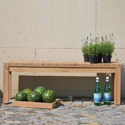Sumatra bench | Panche da giardino | jankurtz