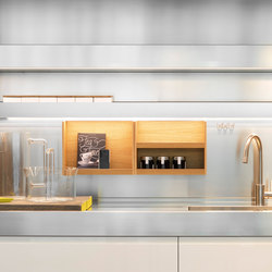 Mensolinea | Kitchen organization | Arclinea