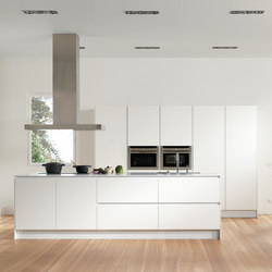 Serie 45 | Polar white | Island kitchens | dica