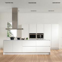 Serie 45 | Polar white | Kücheninseln | dica