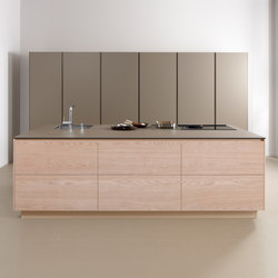 Serie 45 | Bleached elm | Island kitchens | dica