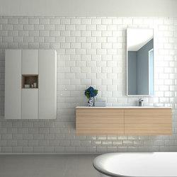 Zero | Bleached Elm | Meubles sous-lavabo | dica