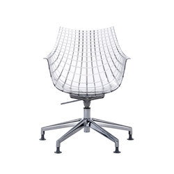 Meridiana swivel chair | Sillas | Driade