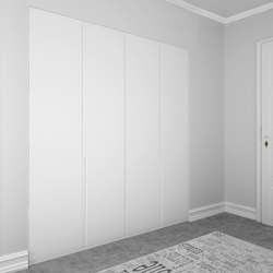 Hinged doors | Cream | Armadi a muro | dica