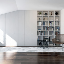 Hinged doors | Porcelaine | Built-in cupboards | dica