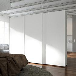 Sliding doors | Cream | Wardrobes | dica