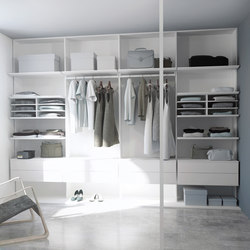 Walk-in closets | Porcelaine | Cabinets | dica