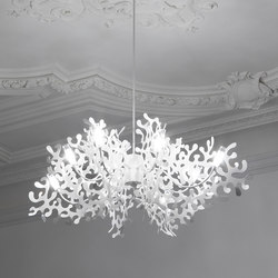 Coral | Ceiling suspended chandeliers | Lumen Center Italia
