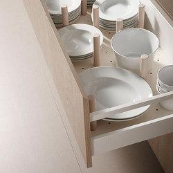 Accessories Kitchen | Base for plates | Kitchen organization | dica