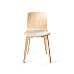 Lottus Wood Chair | Sedie | ENEA