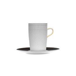 AURÉOLE CLAIR DE LUNE Mug, saucer | Dinnerware | FÜRSTENBERG