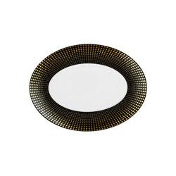 AURÉOLE CLAIR DE LUNE Tableau, oval | Dinnerware | FÜRSTENBERG