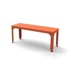Hegoa bench S | Bancos | Matière Grise