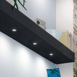 high end spotlights furniture integrated lights on architonic. Black Bedroom Furniture Sets. Home Design Ideas
