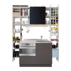 FNP Kitchen | Shelving | Moormann