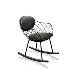 Piña Rocking Chair | Sillones lounge | Magis