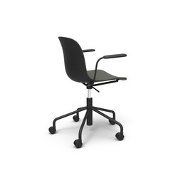 Troy | Swivel chair on 5 wheels | Office chairs | Magis