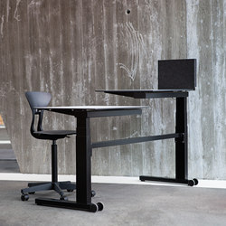 Gerrit Solo | Individual desks | Holmris Office