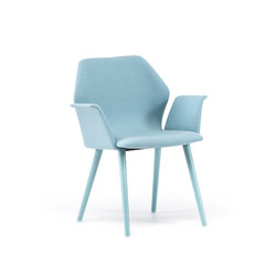 Ava Armchair | Visitors chairs / Side chairs | Bross