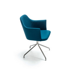 Break Swivel Armchair | Sillas de visita | Bross