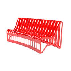 Cutout bench | Bancos de exterior | Urbo