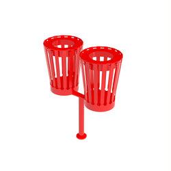 Cutout double bin | Waste baskets | Urbo