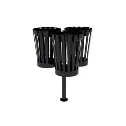 Cutout trible bin | Waste baskets | Urbo