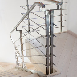 Step System Inox | Railings / Balustrades | Wolfsgruber