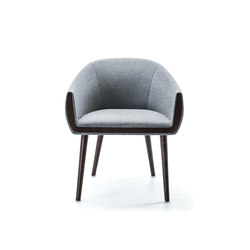 Ginevra Armchair | Visitors chairs / Side chairs | Bross