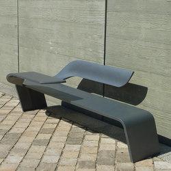 Wave bench | Panche da esterno | Concept Urbain