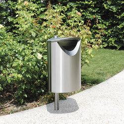 Ellipse 60 litter bin | Waste baskets | Concept Urbain