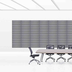 ECOstrong wall | Sound absorbing wall systems | Slalom