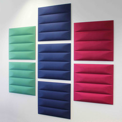 ECOwall | Sound absorbing wall systems | Slalom