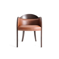 Roulette Armchair | Visitors chairs / Side chairs | Bross
