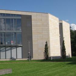SAXAflect | Fassade | Fassadenkonstruktionen | Sandstein Concept