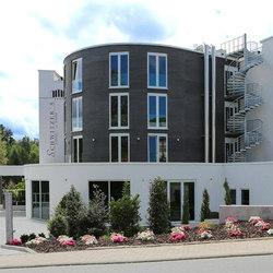 SAXAflect | Fassade | Sistemas constructivos de fachada | Sandstein Concept