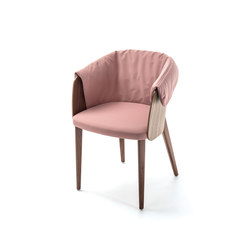 Shell Armchair | Restaurant chairs | Bross