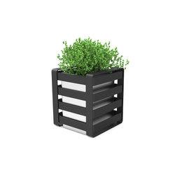 Noir flower-box | Plant pots | Urbo