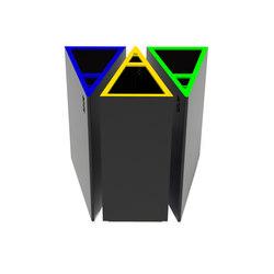 Deltoid bin | Abfallbehälter | Urbo