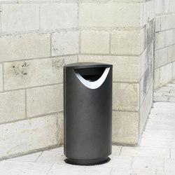 Ellipse 100 litter bin | Exterior bins | Concept Urbain