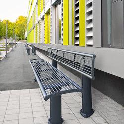 Alizé bench | Bancos | Concept Urbain
