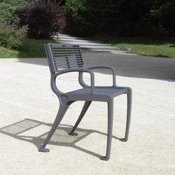 Basic armchair mesh | Sillas de exterior | Concept Urbain