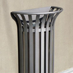 Basic 1/2 litter bin 2 | Waste baskets | Concept Urbain