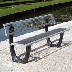 Delta mesh bench | Benches | Concept Urbain