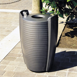 Delta litter bin 90L | Exterior bins | Concept Urbain