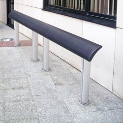 Europe composite standing seat | Exterior benches | Concept Urbain