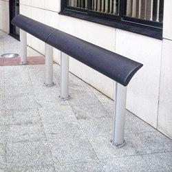 Europe composite standing seat | Bancos de exterior | Concept Urbain