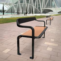 Imawa bench | Bancos de exterior | Concept Urbain