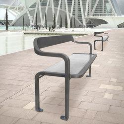 Imawa bench armchair | Exterior benches | Concept Urbain