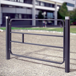 Imawa barrier B2 | Railings / Barriers | Concept Urbain